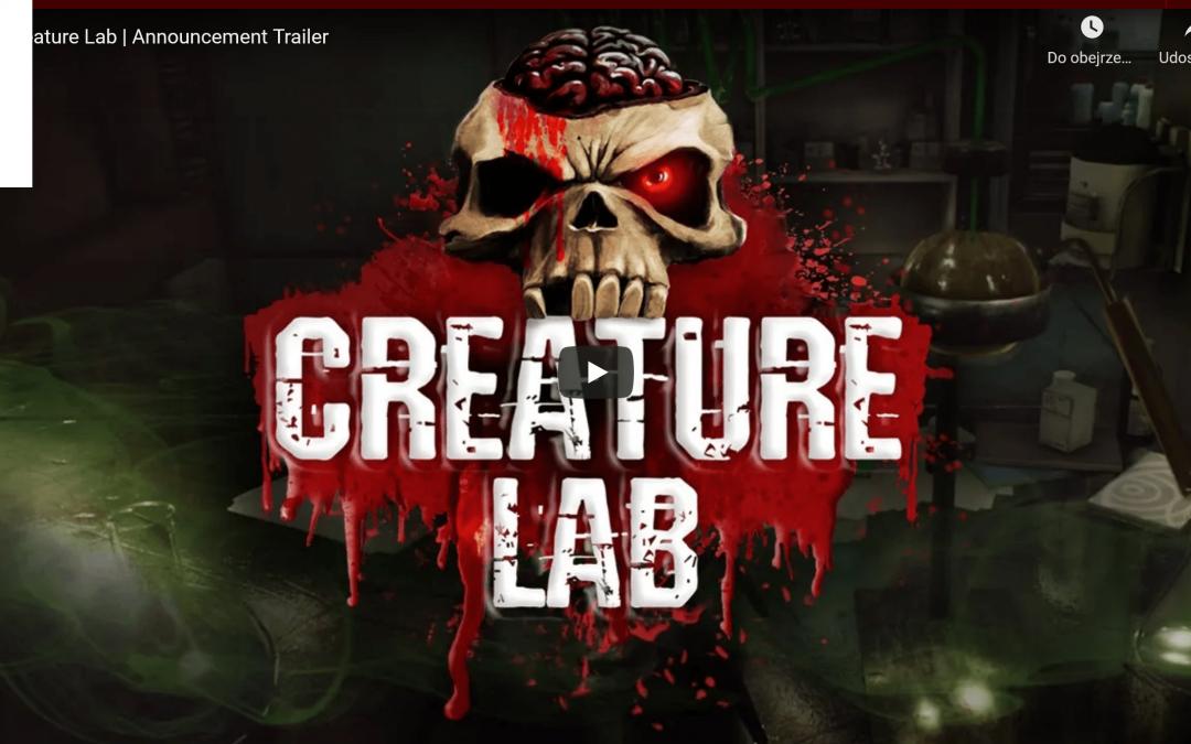 Prezentujemy naszą następną grę – Creature Lab!