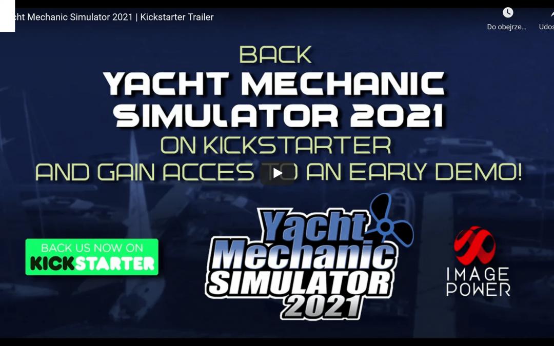 Yacht Mechanic Simulator – ruszamy z kampanią na Kickstarterze!