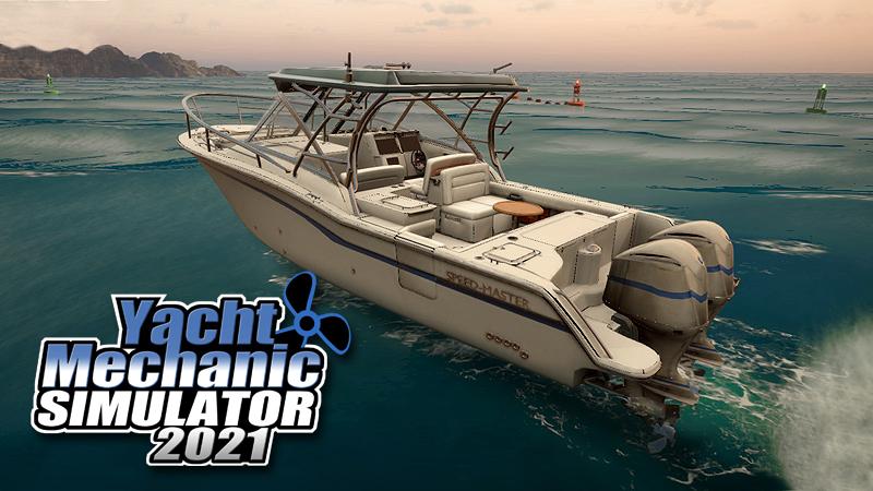 Nowy jacht, tryb kariery i więcej w najnowszym devlogu /YACHT MECHANIC SIMULATOR 2021/