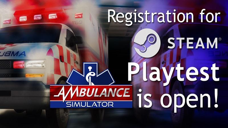 Ruszyła rejestracja do testów gry Ambulance Simulator!